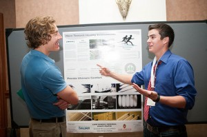 2012 Green Energy Challenge poster session in Las Vegas